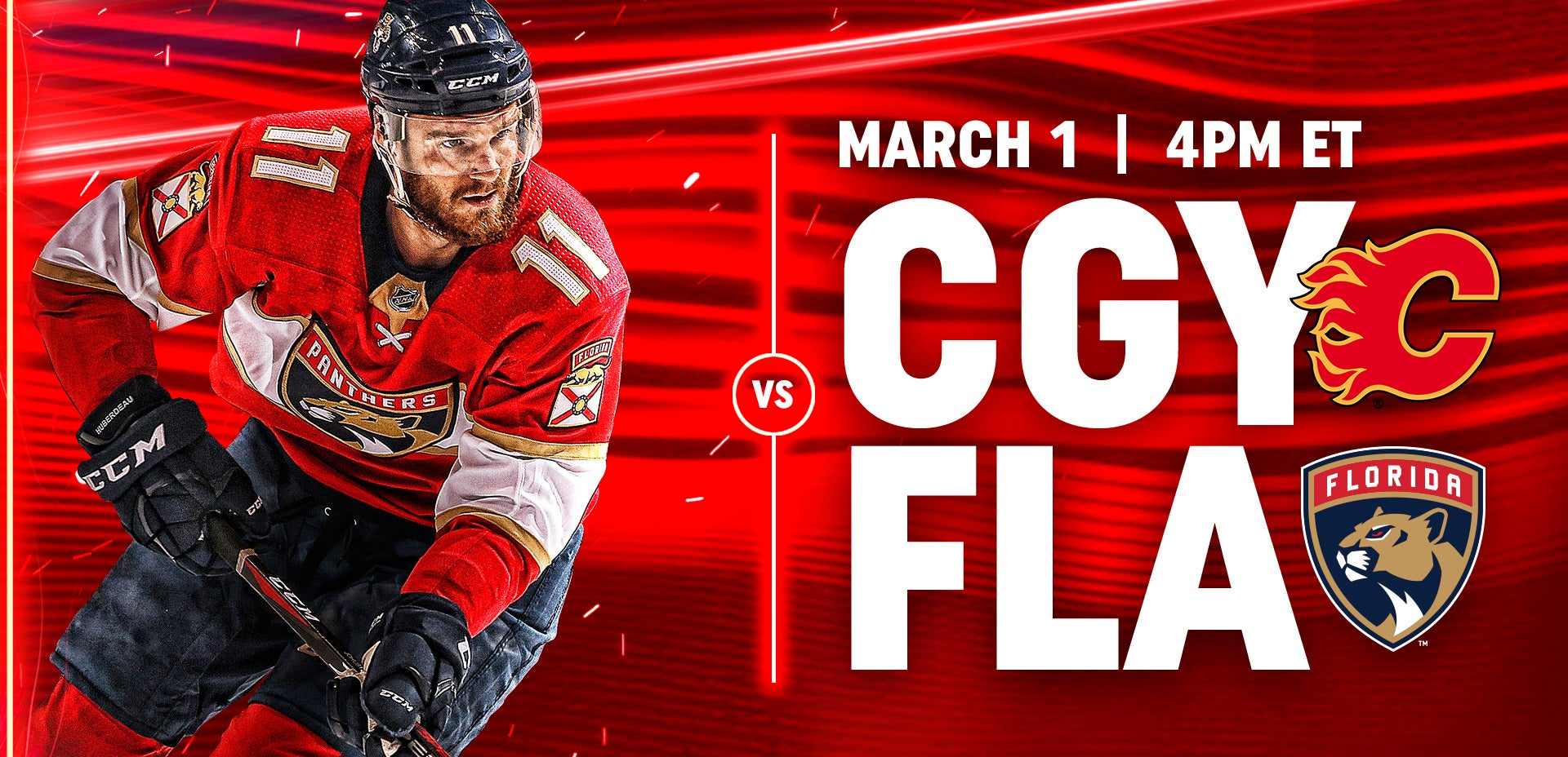 Flames vs Panthers