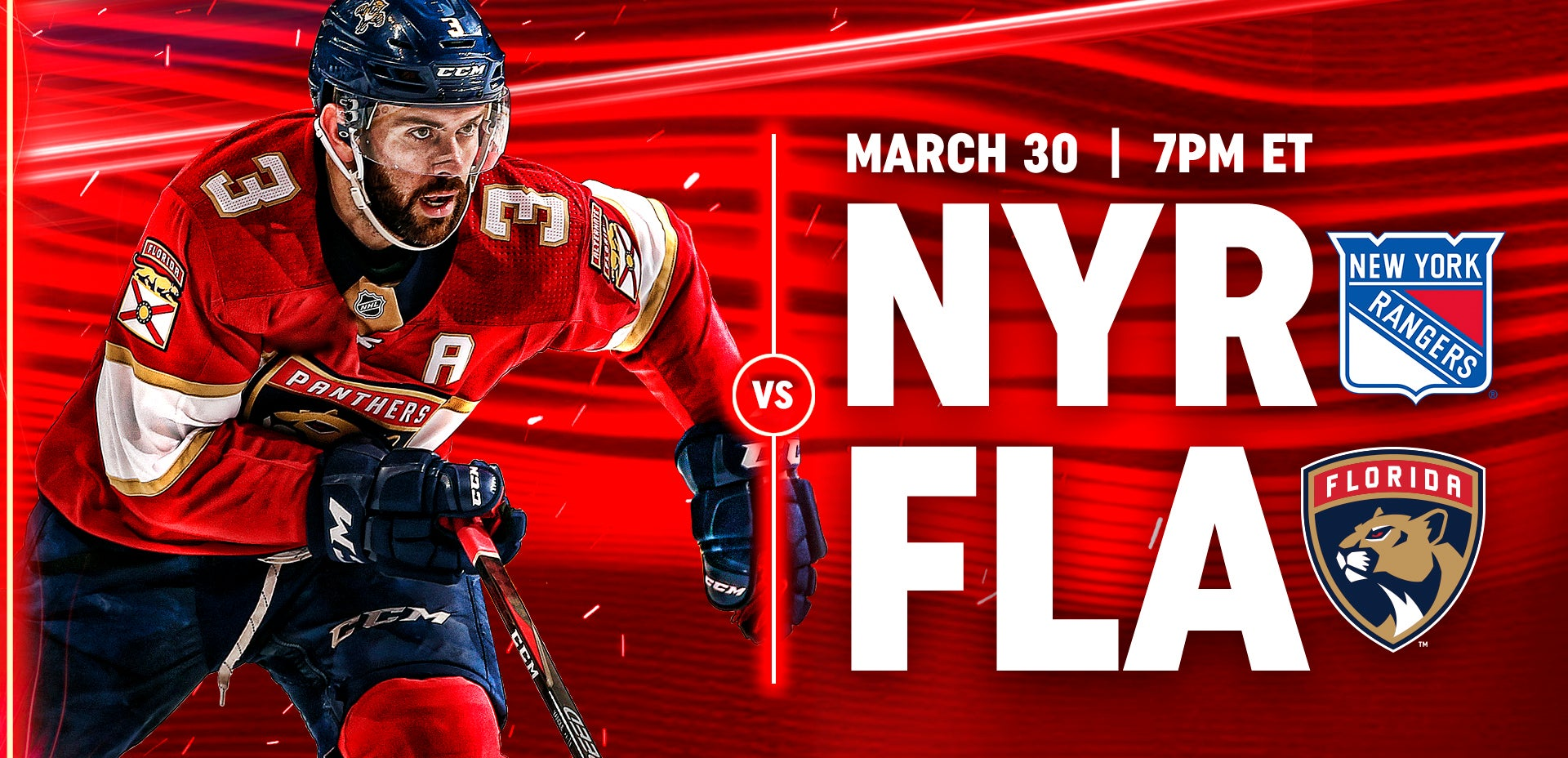 Rangers vs Panthers