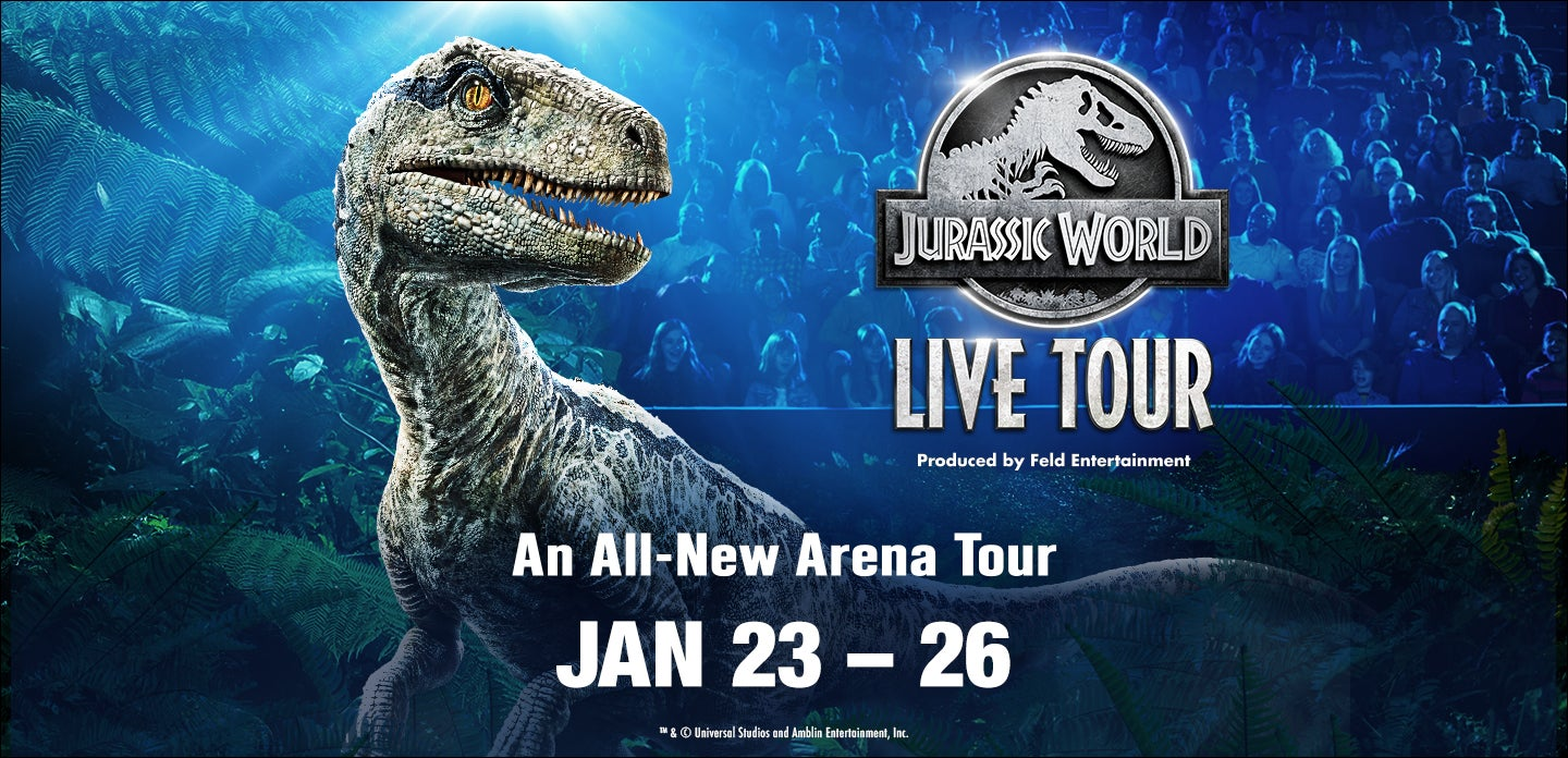 Jurassic World Live Tour | BB&T Center