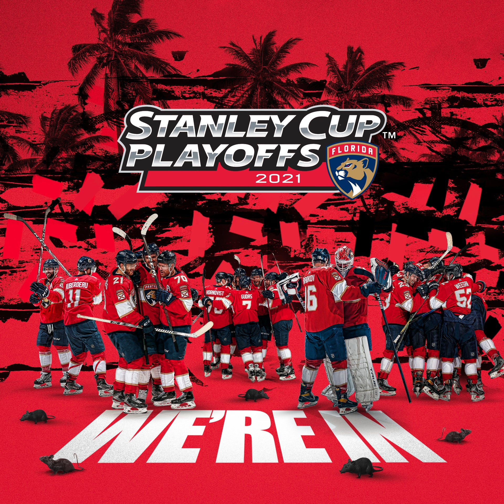 Florida Panthers Clinch Berth in 2021 Stanley Cup Playoffs