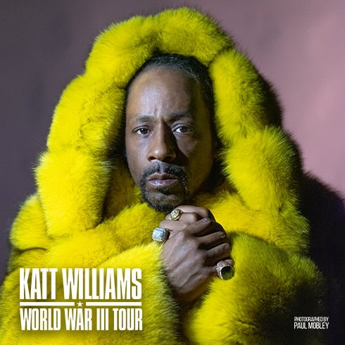 More Info for Katt Williams Set to Bring His World War III Tour to FLA Live Arena on August 20