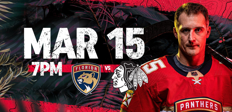Blackhawks vs Panthers