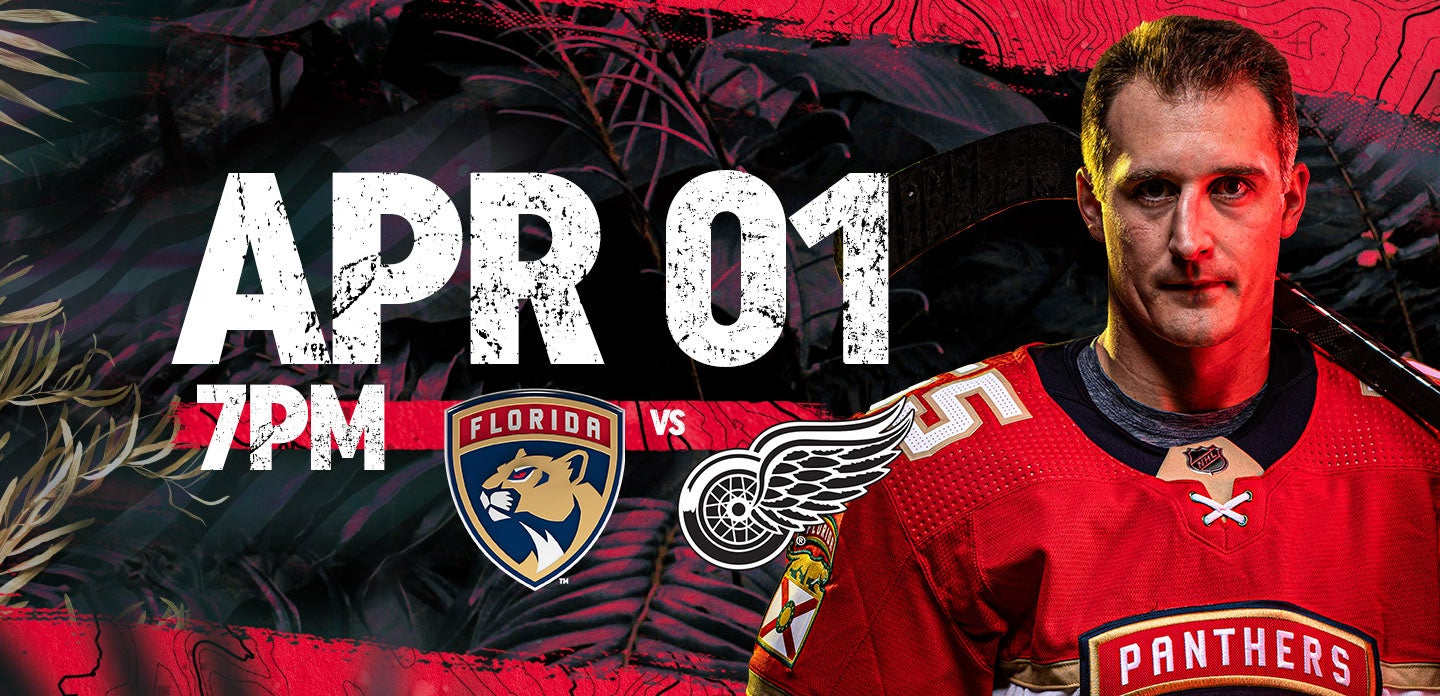 Red Wings vs Panthers
