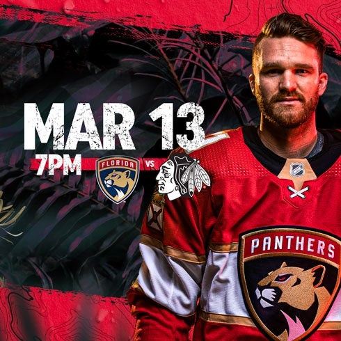 More Info for Blackhawks vs Panthers