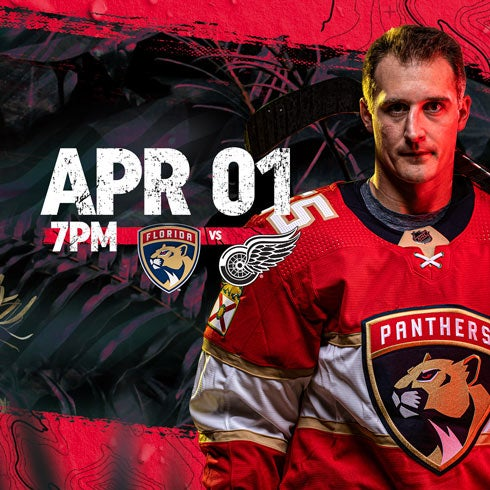 More Info for Red Wings vs Panthers