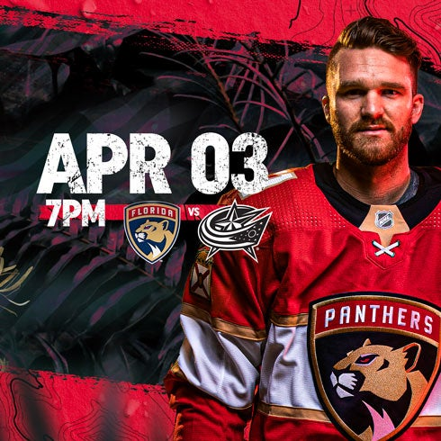More Info for Blue Jackets vs Panthers