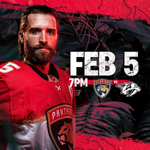 More Info for Predators vs Panthers