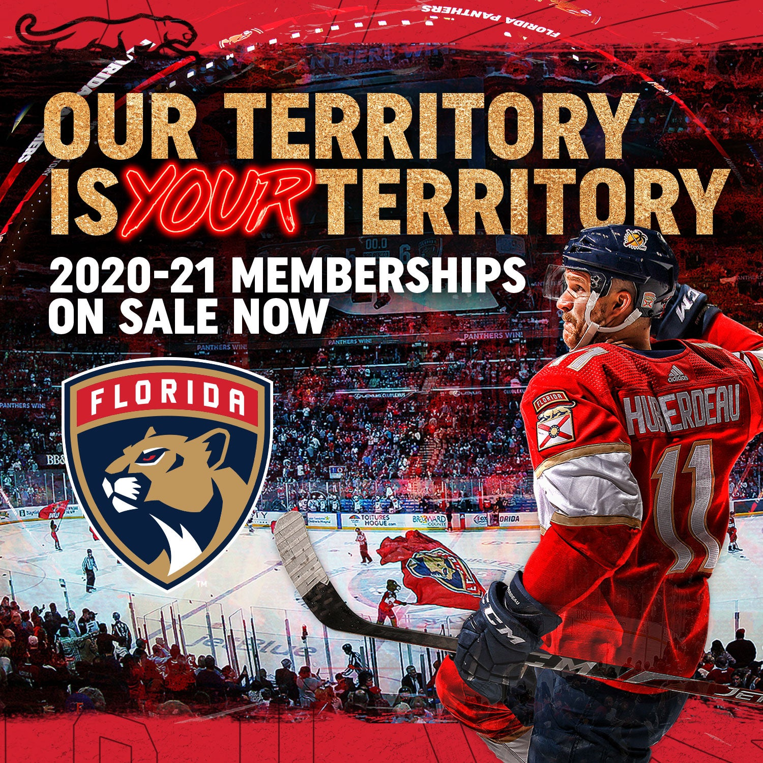 Florida Panthers Season Ticket Territory Memberships Available Now