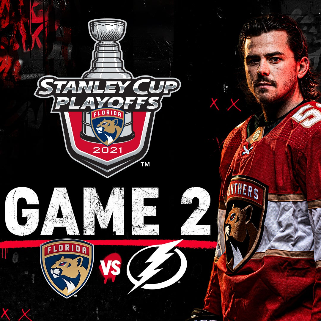 More Info for GAME 2 - Lightning vs Panthers