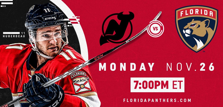 New Jersey Devils vs. Florida Panthers
