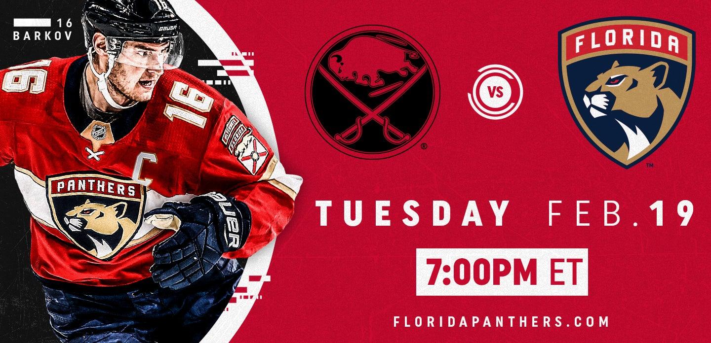 Buffalo Sabres vs. Florida Panthers
