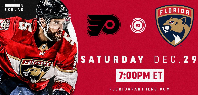 Philadelphia Flyers vs. Florida Panthers