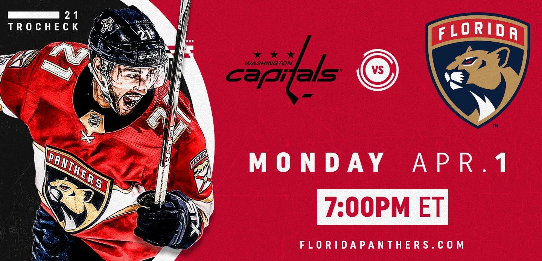 Washington Capitals vs. Florida Panthers