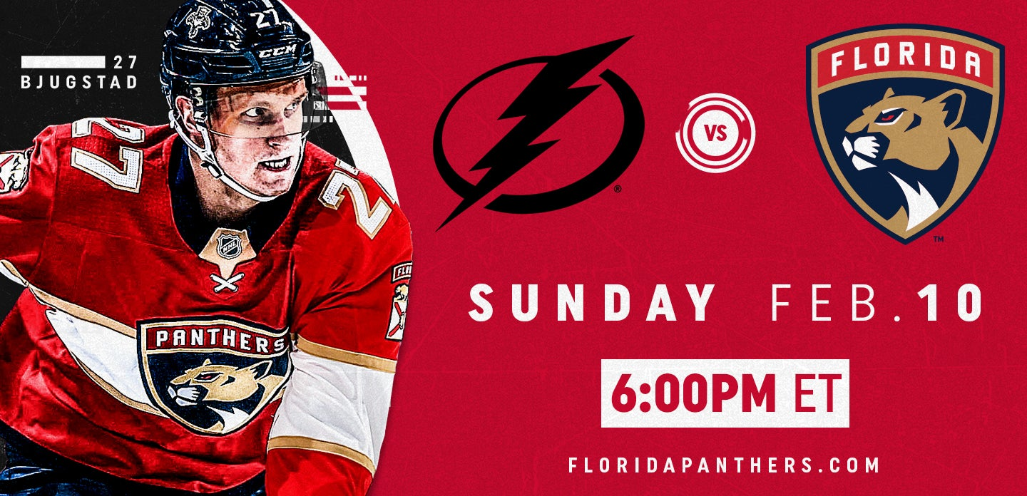 Tampa Bay Lightning vs. Florida Panthers