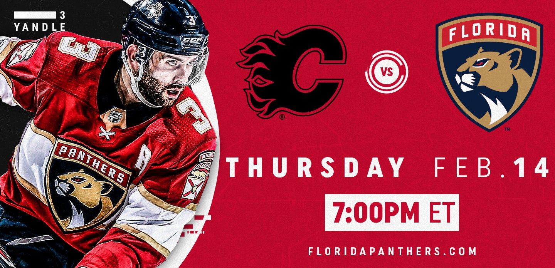 Calgary Flames vs. Florida Panthers