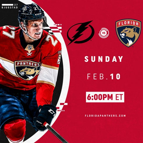 More Info for Tampa Bay Lightning vs. Florida Panthers
