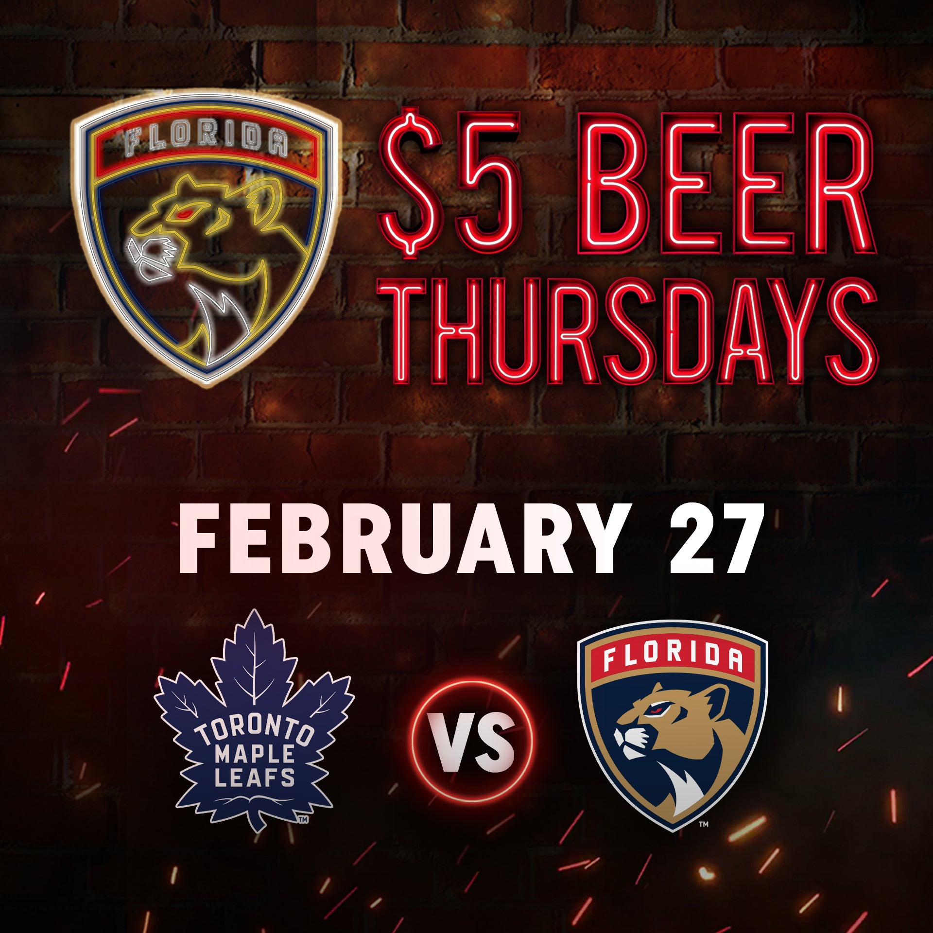 $5 Beer Thursday