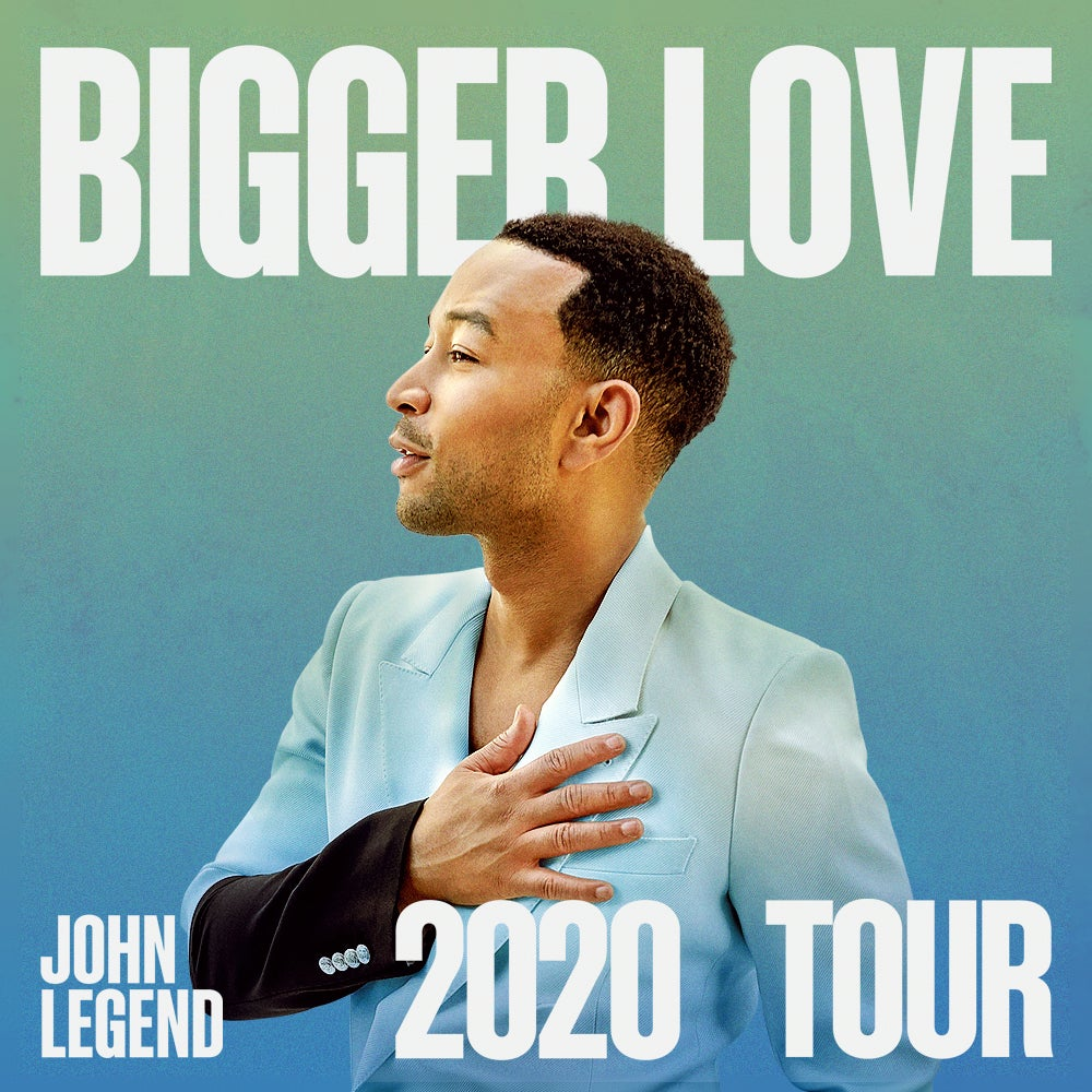 More Info for John Legend Announces Bigger Love 2020 Tour Coming to BB&T Center August 18
