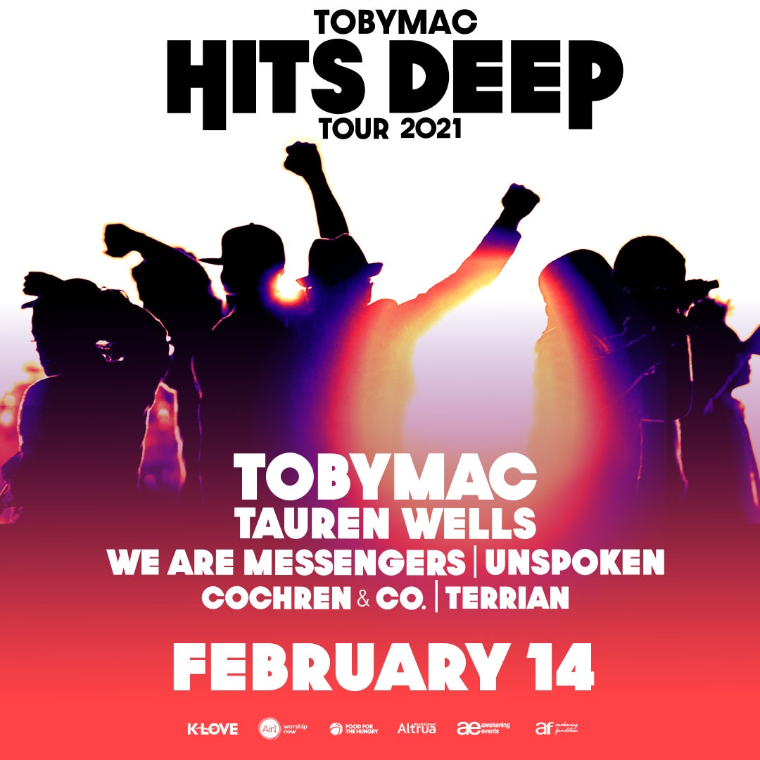 More Info for TobyMac Hits Deep Tour is Coming to FLA Live Arena