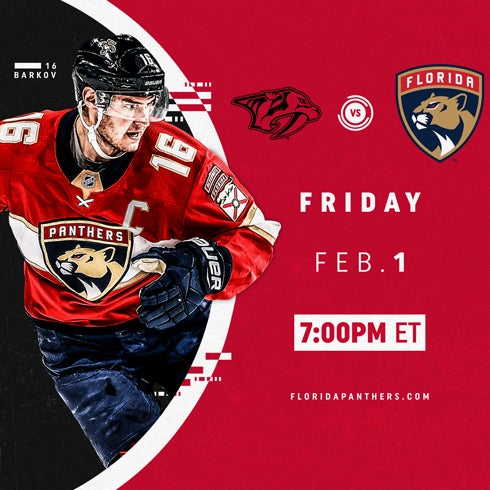 More Info for Nashville Predators vs. Florida Panthers